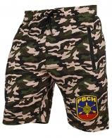 Надежные армейские шорты с нашивкой РВСН
