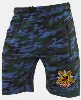 Надежные камуфляжные шорты с нашивкой РХБЗ