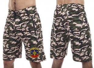 Надежные контрастные шорты с нашивкой РВСН - купить онлайн