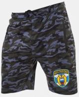 Надежные милитари шорты с нашивкой ФСО
