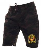 Надежные мужские шорты с нашивкой СССР