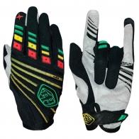 Байкерские перчатки от Clarino с яркими полосками