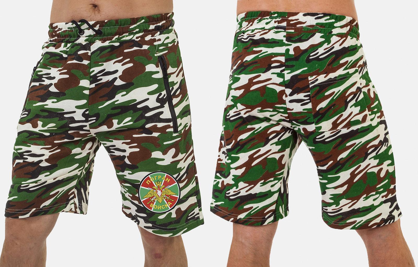 Надежные шорты для пограничников.