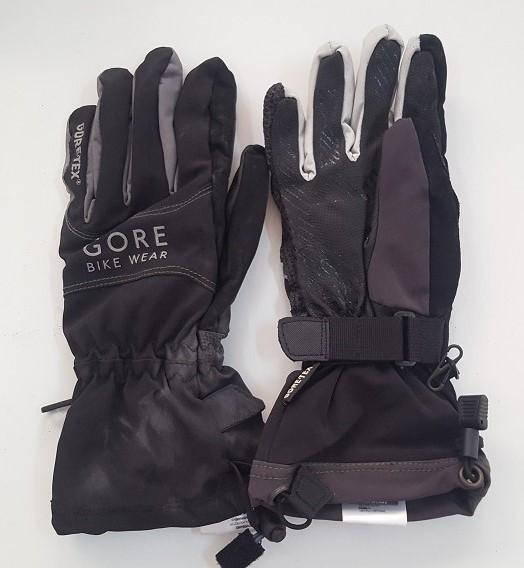 Надежные темные перчатки от Gore Bike Wear