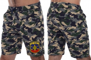 Надежные трикотажные шорты с нашивкой РВСН - купить с доставкой