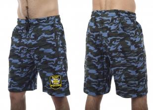 Надежные военизированные шорты с нашивкой Флот России - купить в подарок