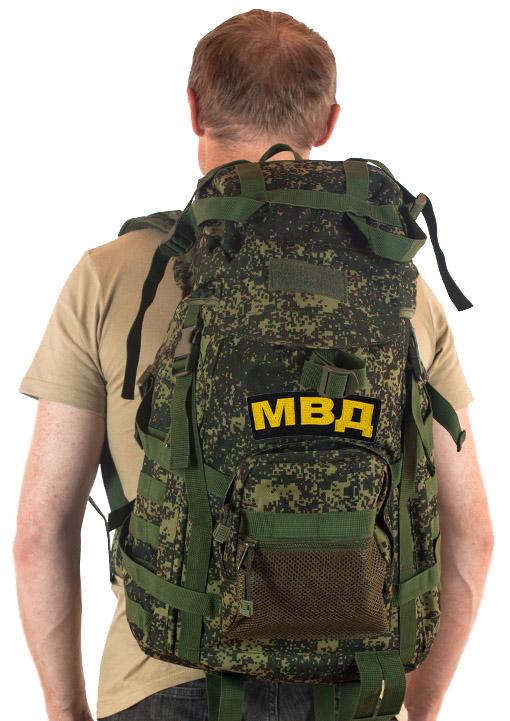 Надежный армейский рюкзак с нашивкой МВД - заказать онлайн