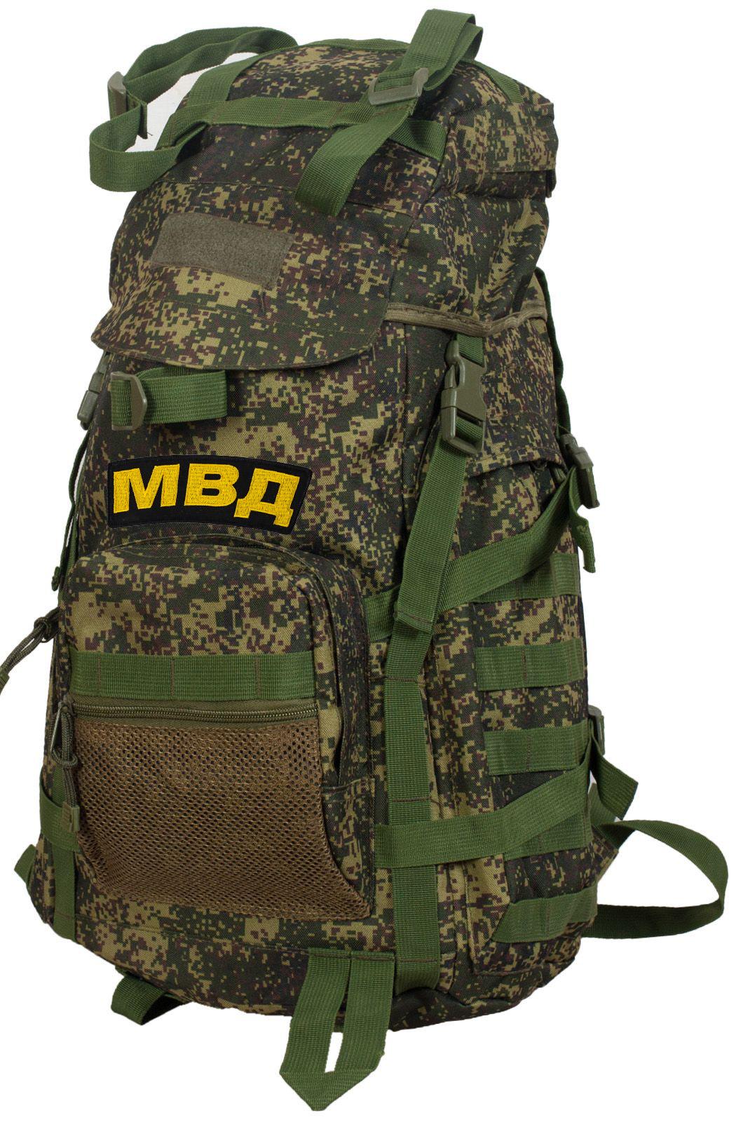 Надежный армейский рюкзак с нашивкой МВД - купить оптом