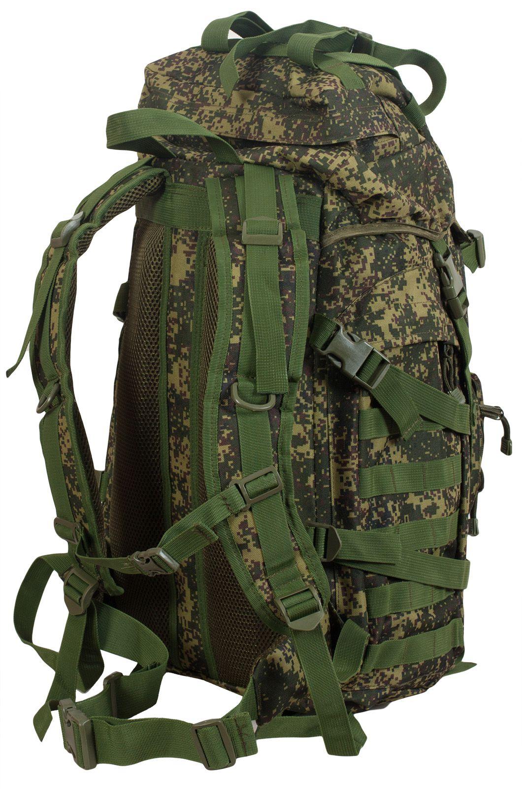 Надежный армейский рюкзак с нашивкой МВД - купить онлайн