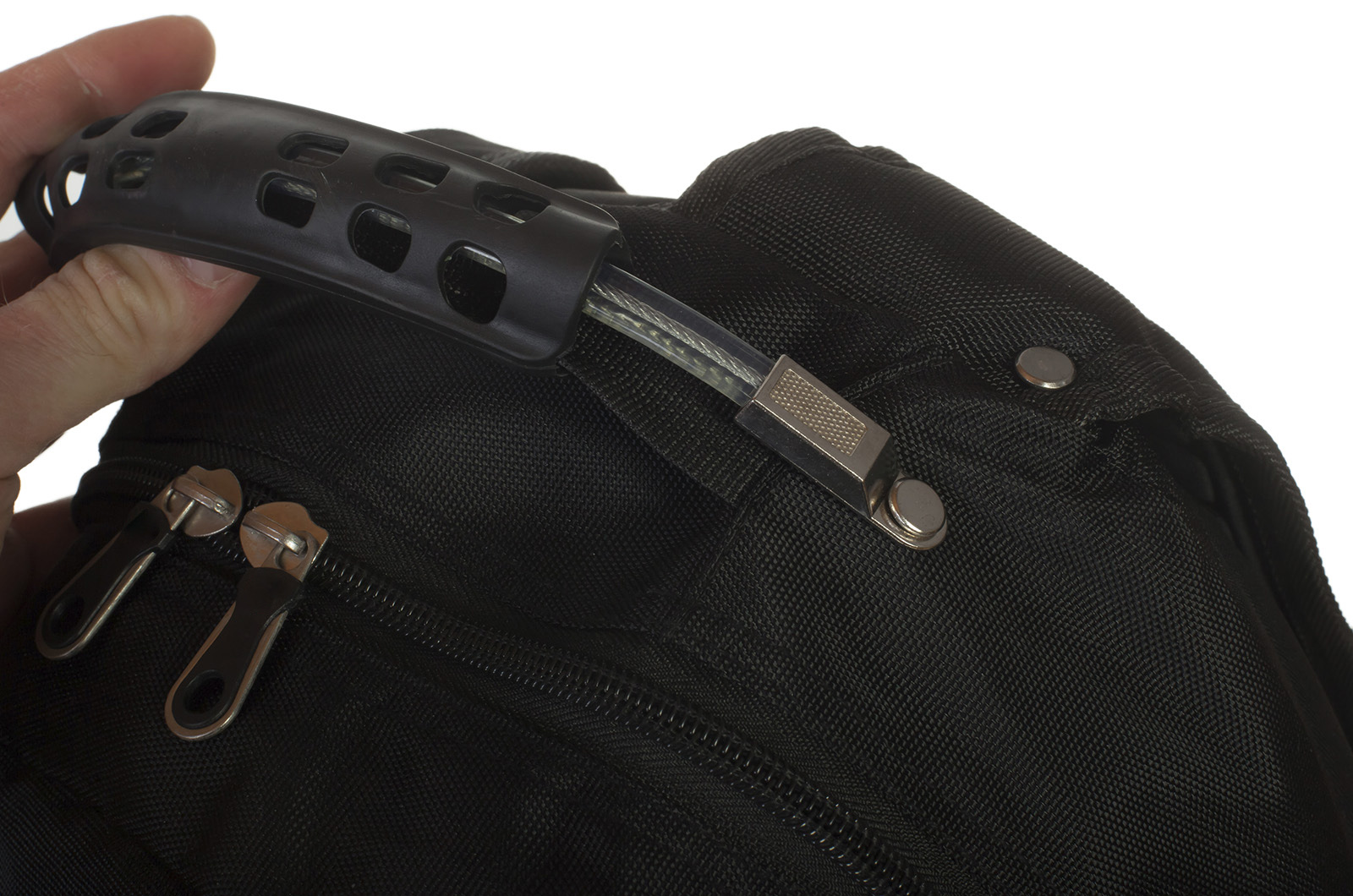 Надежный черный рюкзак с символикой РВиА купить с доставкой