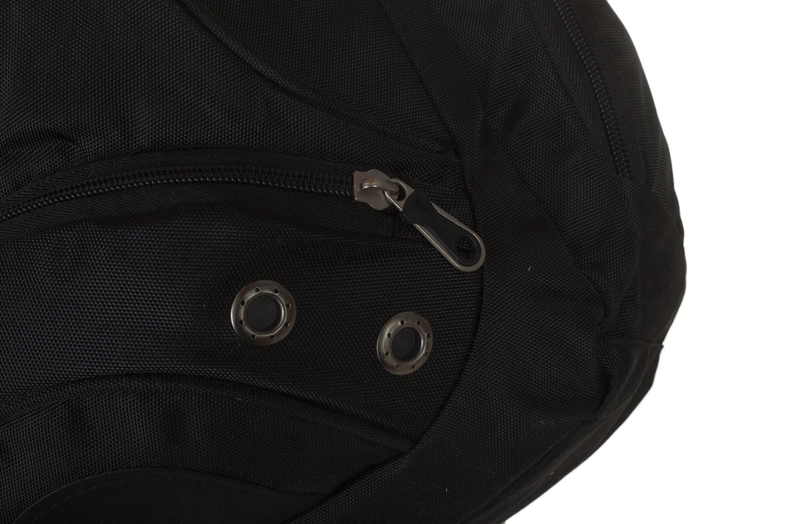 Надежный черный рюкзак с символикой РВиА купить оптом