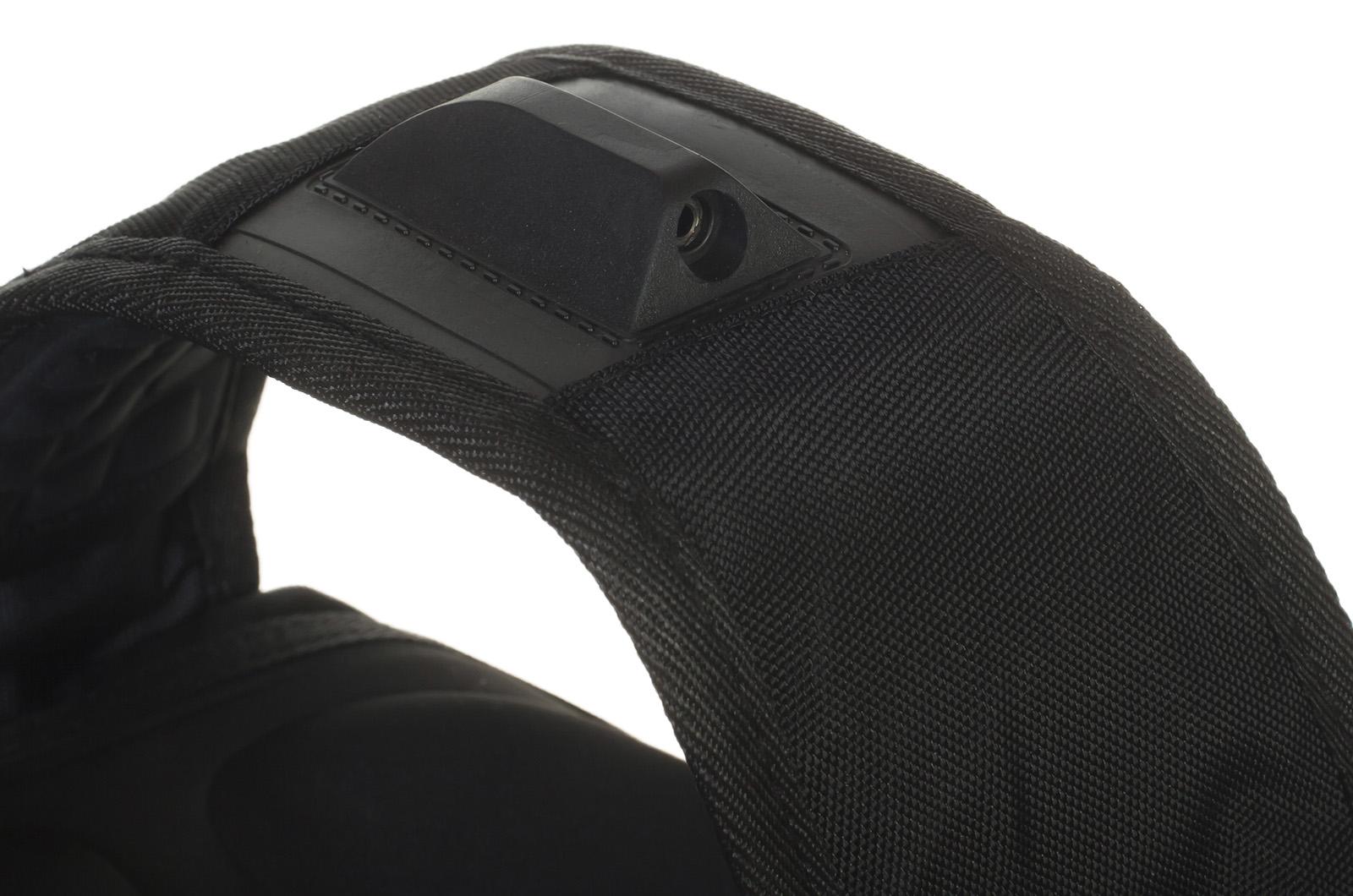 Надежный черный рюкзак с символикой РВиА купить выгодно