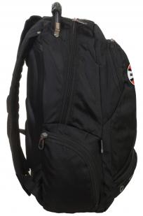 Надежный черный рюкзак с символикой РВиА купить в подарок