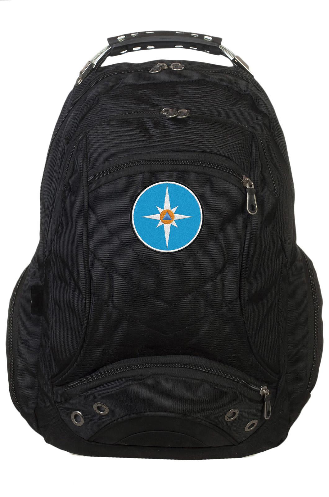 Надежный городской рюкзак с эмблемой МЧС