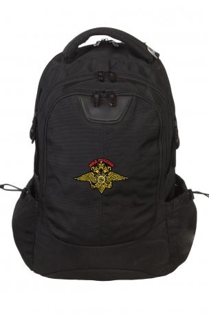 Надежный городской рюкзак с эмблемой МВД