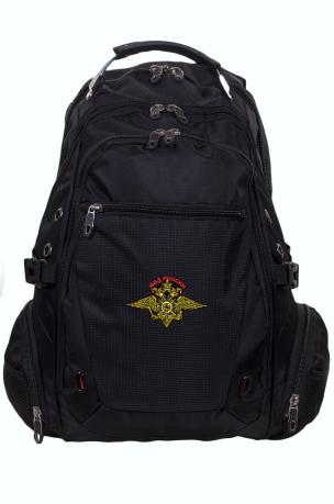 Надежный городской рюкзак с эмблемой МВД России