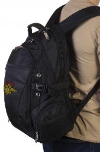 Надежный городской рюкзак с эмблемой МВД России купить оптом