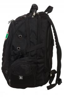 Надежный городской рюкзак с эмблемой Погранвойск купить выгодно