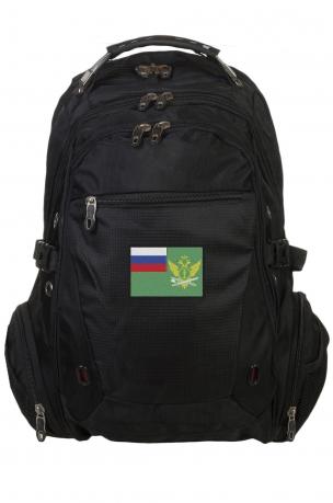 Надежный городской рюкзак с нашивкой ФССП