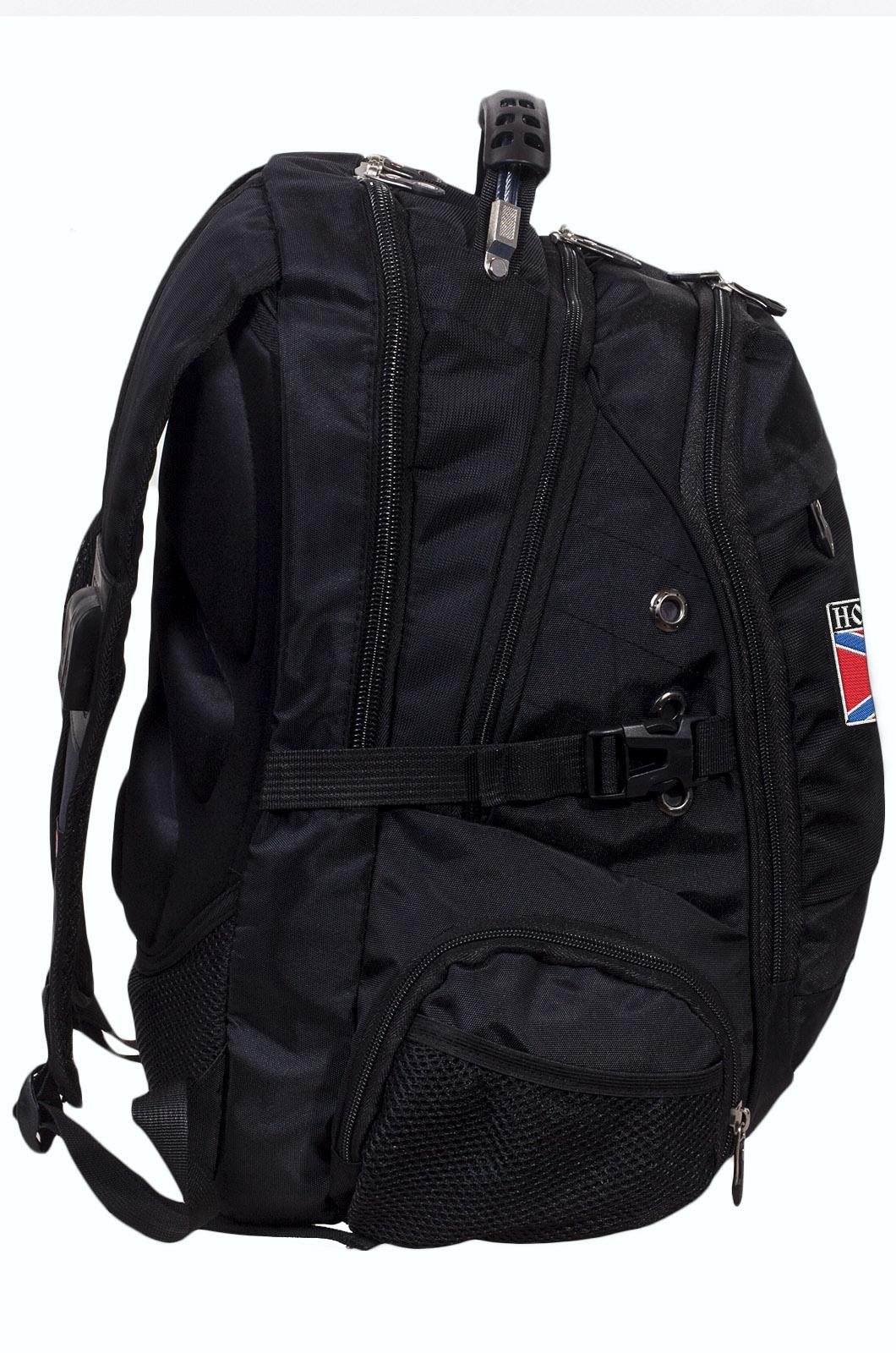Заказать надежный городской рюкзак с нашивкой Новороссия