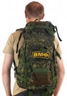 Надежный камуфлированный рюкзак с нашивкой ВМФ - купить выгодно