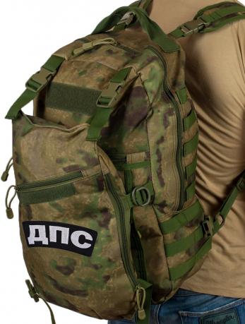 Надежный камуфляжный рюкзак с нашивкой ДПС - заказать онлайн