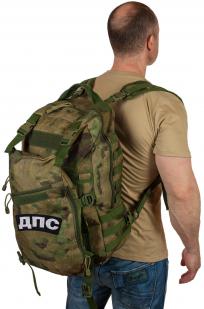 Надежный камуфляжный рюкзак с нашивкой ДПС - заказать оптом