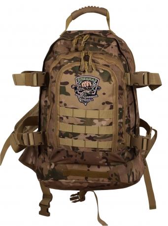 Надежный камуфляжный рюкзак с нашивкой Рыболовных войск