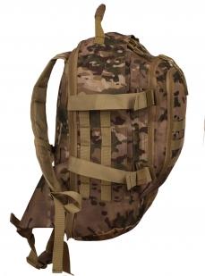 Заказать надежный камуфляжный рюкзак с нашивкой Рыболовных войск