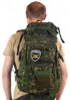 Надежный камуфляжный рюкзак с нашивкой СПЕЦНАЗ - заказать онлайн