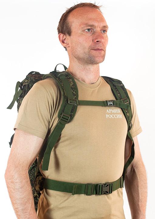 Надежный камуфляжный рюкзак с нашивкой СПЕЦНАЗ - заказать выгодно