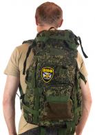 Надежный камуфляжный рюкзак с нашивкой ВМФ - купить выгодно