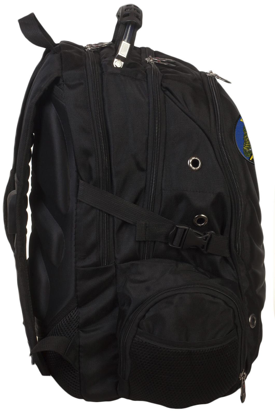 Надежный крутой ранец-рюкзак с нашивкой Войсковая Разведка - купить в подарок