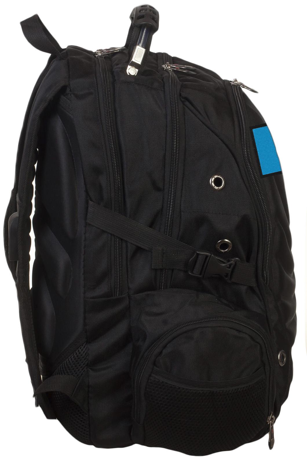 Надежный крутой рюкзак с нашивкой МЧС - заказать выгодно