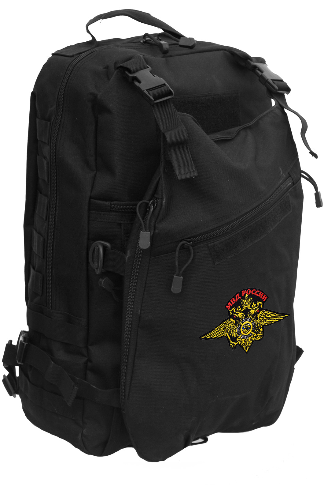 Надежный модульный рюкзак с нашивкой МВД - купить в розницу