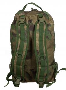 Надежный мужской рюкзак с нашивкой Герб России - купить в подарок