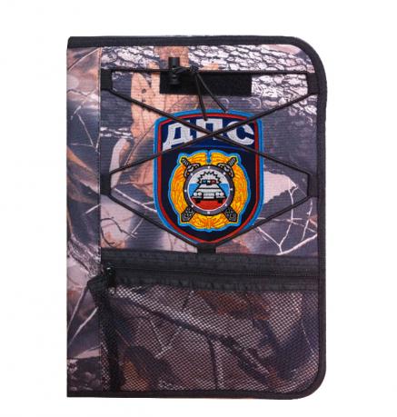 Надежный офицерский планшет с нашивкой ДПС