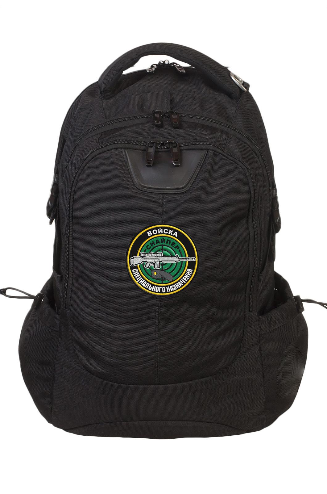 Надежный практичный рюкзак с нашивкой Снайпер