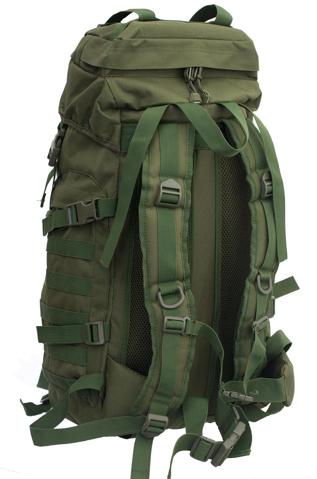 Надежный рейдовый рюкзак с нашивкой Танковые Войска - заказать в Военпро