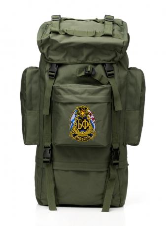Надежный рюкзак с нашивкой Балтфлот.