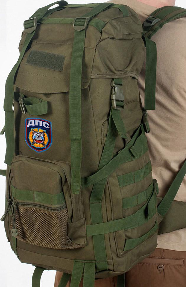 Надежный штурмовой рюкзак с нашивкой ДПС