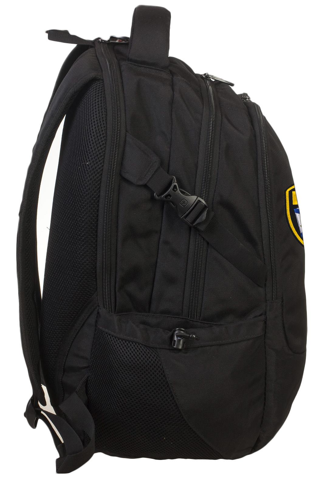 Надежный стильный рюкзак с нашивкой ВМФ - купить онлайн