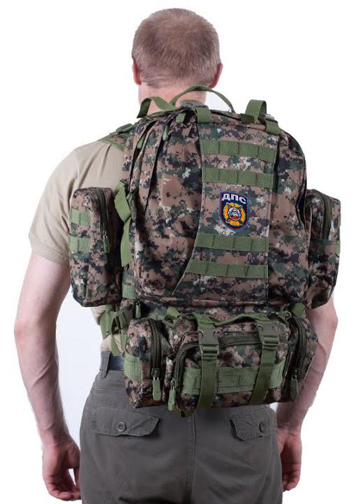 Надежный тактический рюкзак с нашивкой ДПС