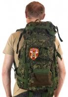 Надежный тактический рюкзак с нашивкой Росгвардия - заказать выгодно