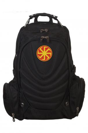 Надежный трендовый рюкзак с нашивкой Коловрат