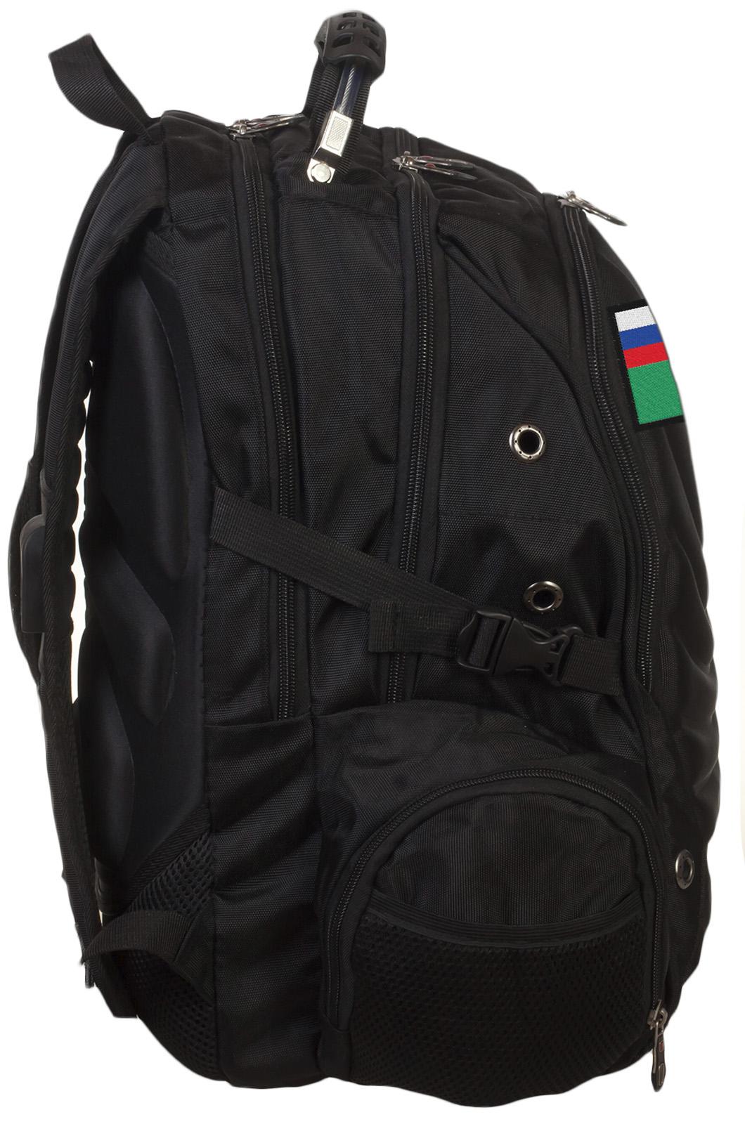 Надежный вместительный рюкзак с нашивкой ФССП - заказать оптом