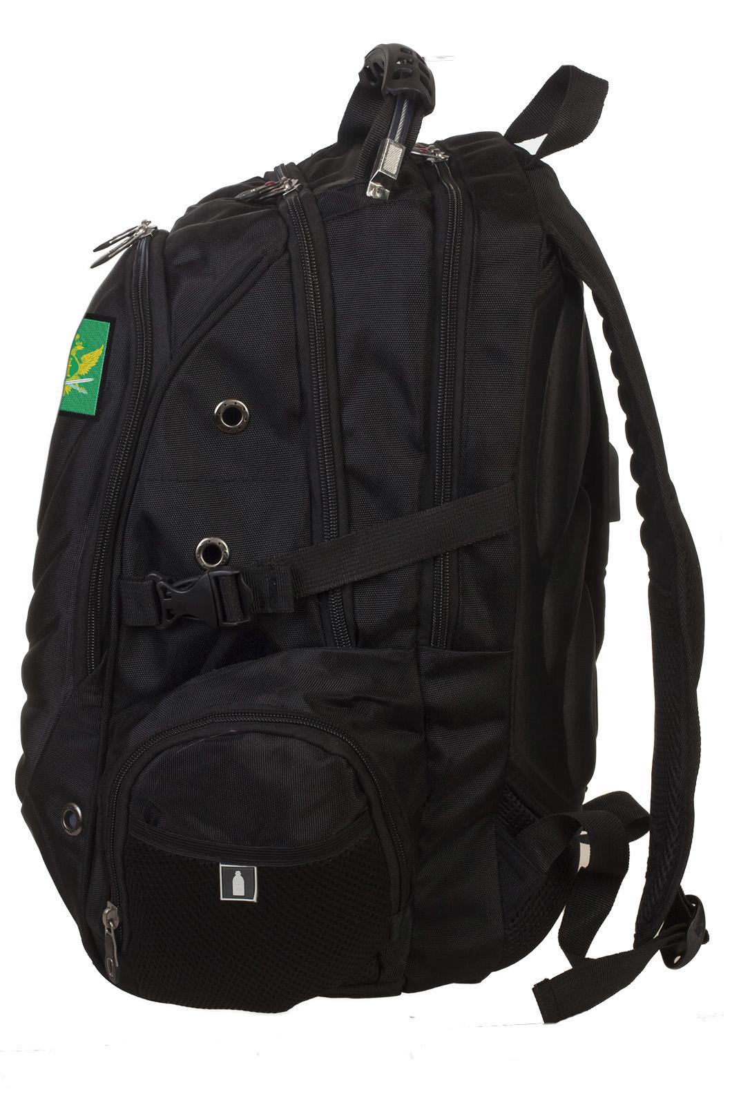 Надежный вместительный рюкзак с нашивкой ФССП - заказать в розницу