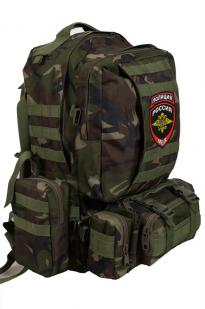 Надежный военный рюкзак с нашивкой Полиция России - заказать выгодно