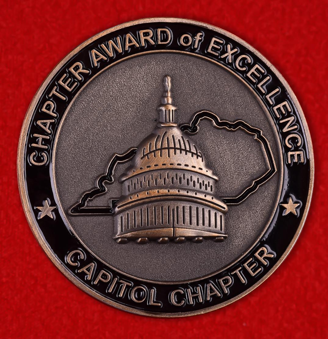 "Награда США ""За заслуги"" от Совета по предотвращению преступлений штата Кентукки"