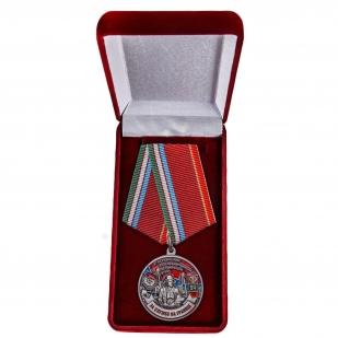 Наградная медаль ПВ За службу на границе (47 Керкинский ПогО) - в футляре
